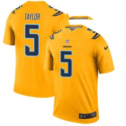 Tyrod Taylor Los Angeles Chargers Youth Legend Inverted Nike Jersey - Gold